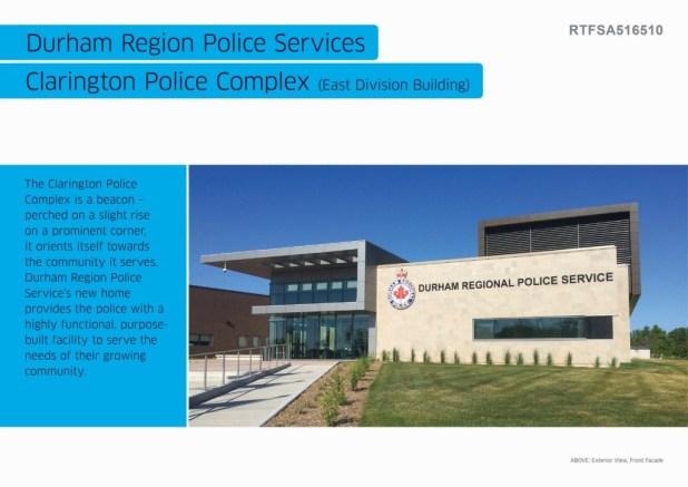 Durham Region Police Services, Clarington Police Complex (Eas (1)