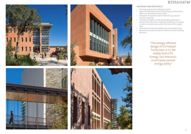 Trinity University - Center for Sciences and Innovation (2)