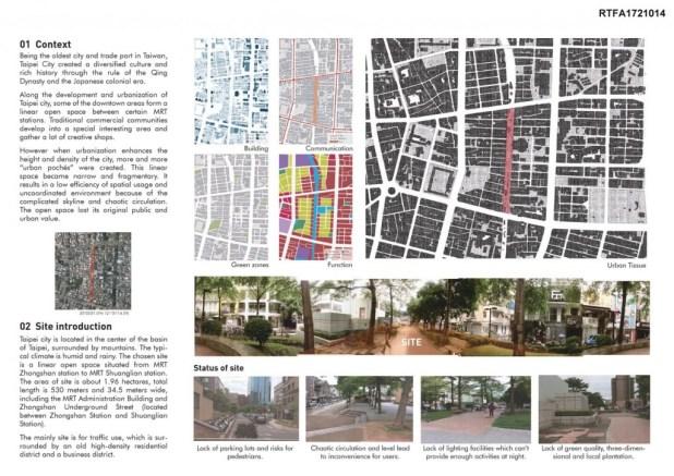 Eco- courtyard of City- a Green Corridor in Taipei City (2)