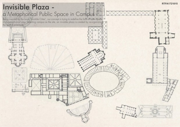 Invisible Plaza - a Metaphor of Public Space in Campus (1)