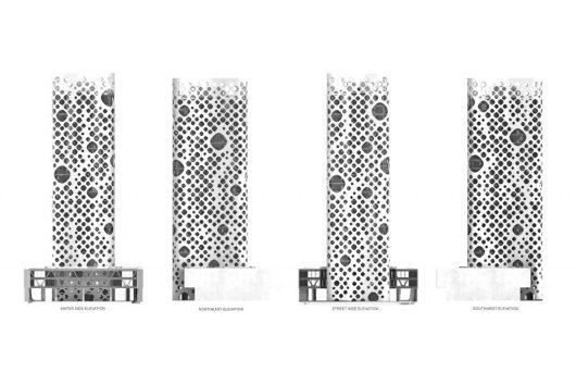 20 Façades de bâtiments créatifs pour les bâtiments commerciaux dans le monde - O-14