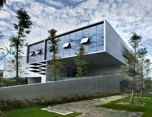 20 Façade de bâtiments créatifs pour les bâtiments commerciaux du monde entier - Zhixin Hybrid Office Building