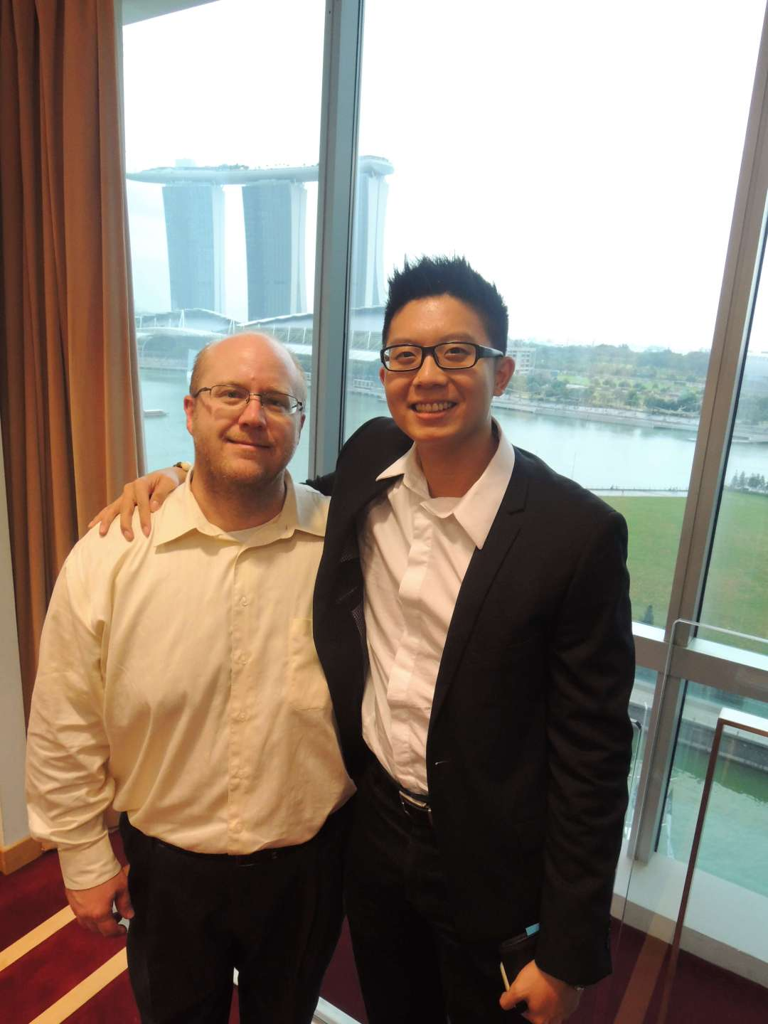 With Brian Schkeryantz, Gryphone Growth Group Managing Director