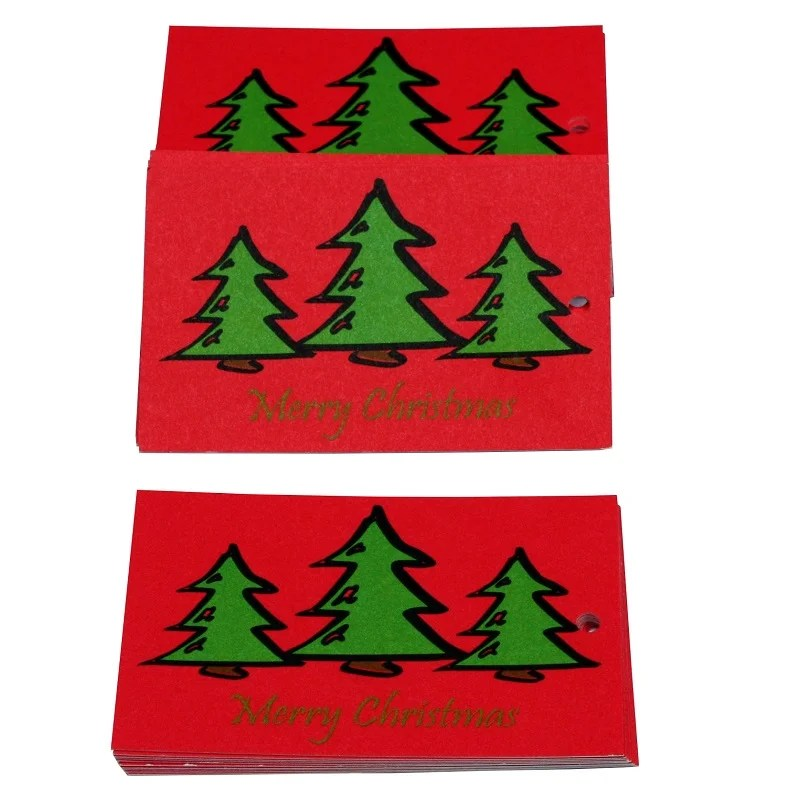 Re-wrapped: ECO Friendly Xmas Wrapping Paper Tags O Christmas Tree Pink by Tracy Umney made from 100% Unbleached Recycled Paper