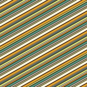Re-wrapped: ECO Friendly Birthday Wrapping Paper Vintage Retro Stripey by Rosie Parkinson made from 100% Unbleached Recycled Paper