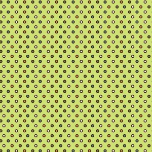 Re-wrapped: ECO Friendly Birthday Wrapping Paper Vintage Retro Yellow Dots by Rosie Parkinson made from 100% Unbleached Recycled Paper