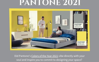 How to Pantone® 2021 Your Home
