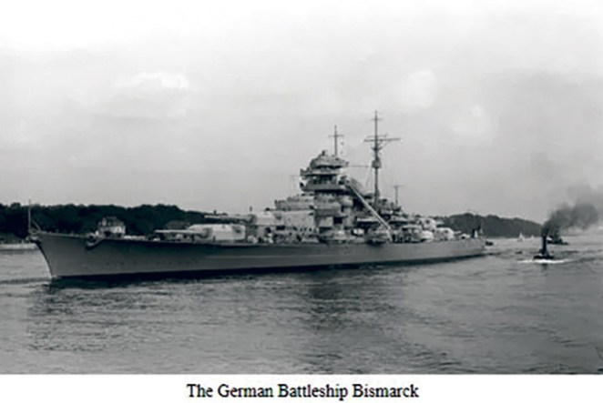 HMS Bismark WWII