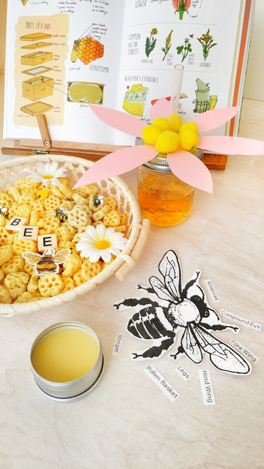 HomeSchool Early Learning Lesson - BEES | Reaching Happy