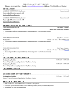 Resume Builder Helps You Create Your Resume Reachivy Tools