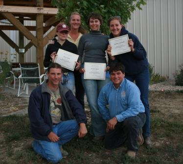 2009 Holistic Horse Certification Course Graduates