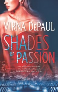 ARC Review….Shades of Passion by Virna DePaul