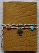 eve devon leather notebook