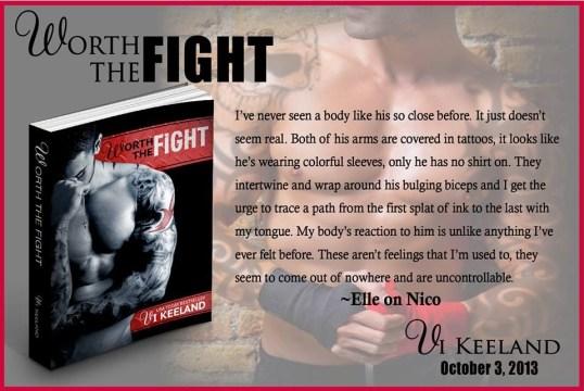 Worth the Fight Excerpt - Elle on Nico