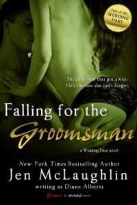 Falling for the groomsman cover