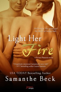 Light Her Fire by Samanthe Beck…Book Blitz Stop & Review