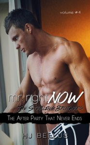 Mr. Right Now Vol. 4 by H.J. Bellus…Release Day Event
