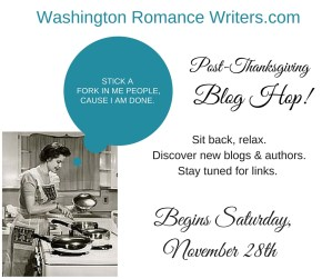 Washington Romance Writers Post Thanksgiving Blog Hop with Kimberly Kincaid & Cristin Harber