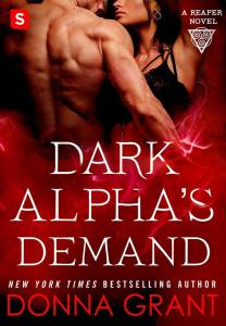 Dark Alpha's Demand by Donna Grant…Release Day Event and Excerpt
