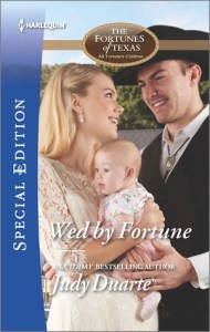 June Harlequin Spotlight: Wed By Fortune by Judy Duarte