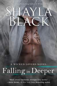 Falling in Deeper by Shayla Black…Release Day Event