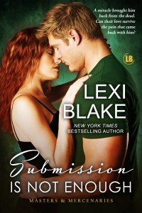 Submission Is Not Enough by Lexi Blake…Blog Tour & Review