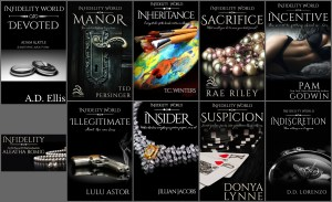 Series Announcement….Infidelity World by Various Authors