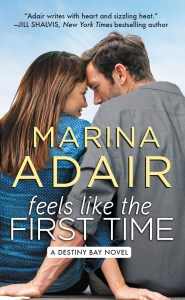 Feels Like The First Time by Marina Adair….Release Day Event & Review
