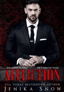 Affliction by Jenika Snow….Release Day Blitz