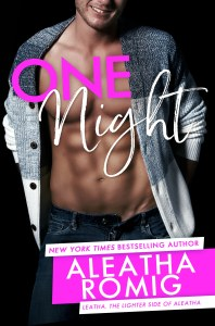 One Night by Aleatha Romig….Excerpt & Review Tour