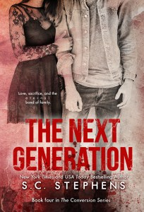 The Next Generation by S.C. Stephens…Release Day Blitz
