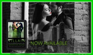 Villain by Samantha Young…Blog Tour & Review