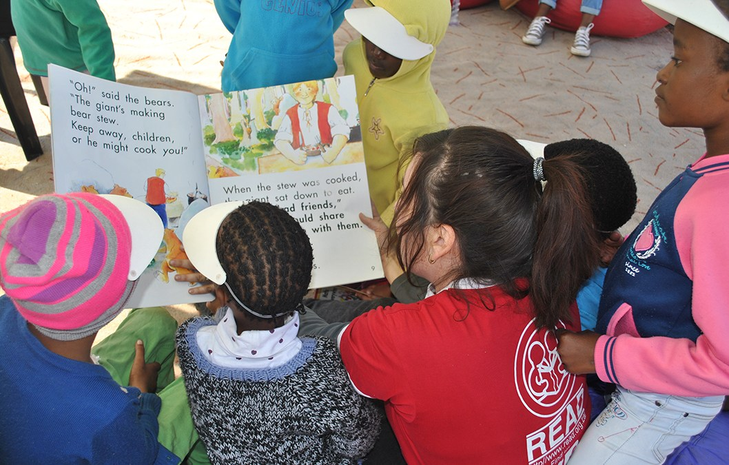 Pick a book, find a friend and read aloud!