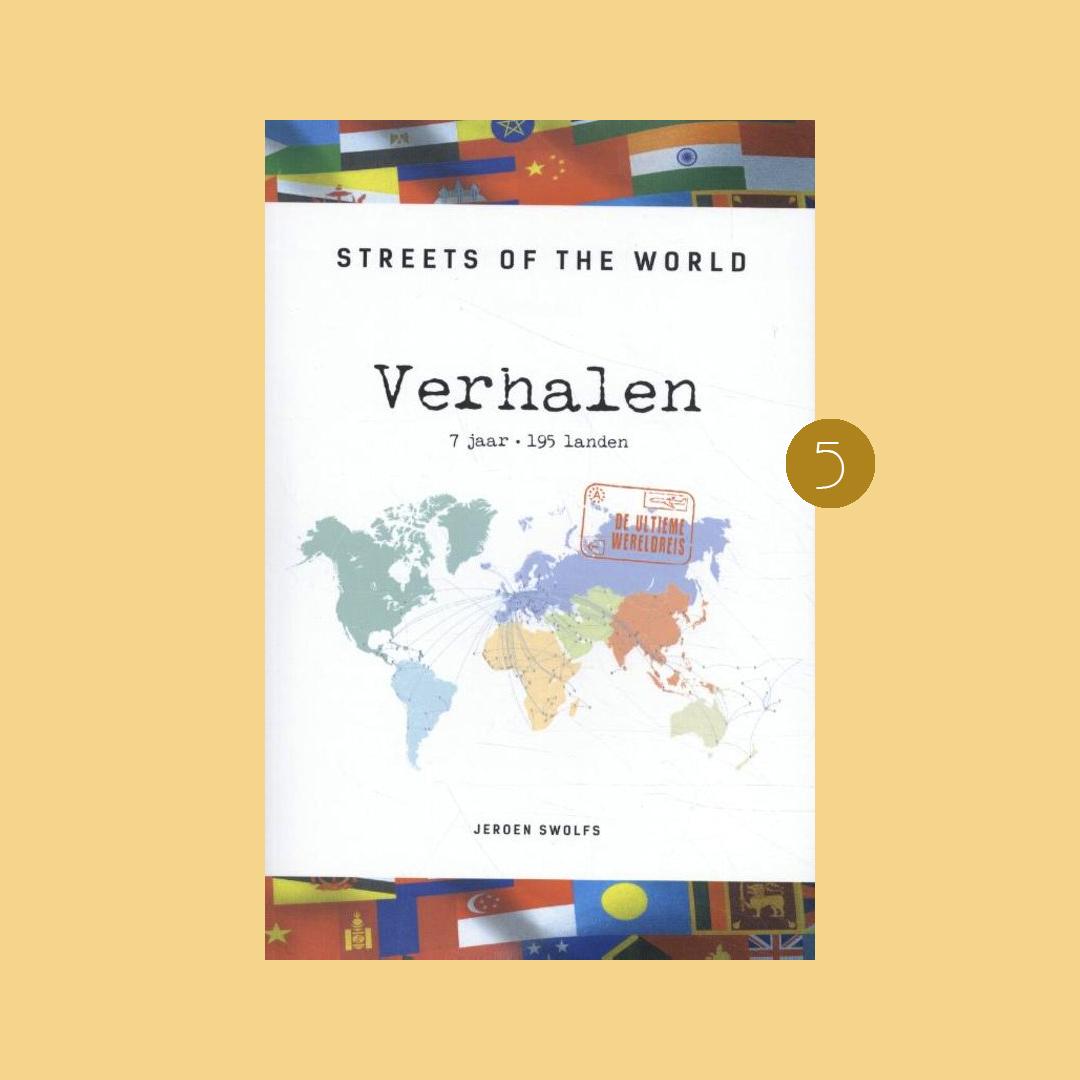 9x boeken om in vakantiestemming te komen: Jeroen Swolfs – Streets of the World verhalen