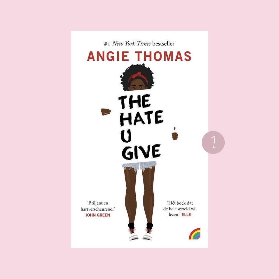 8x belangrijke boeken over racisme: Angie Thomas – The hate u give