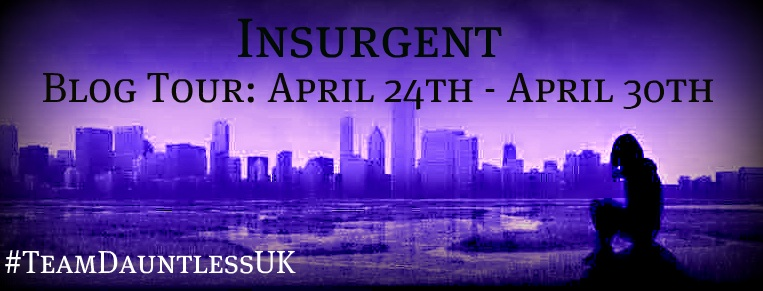 Insurgent UK: Team Dauntless blog tour: Top 10 Characters I Believe Would Join Dauntless