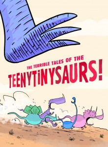 The Terrible Tales of the Teenytinysaurs – Gary Northfield