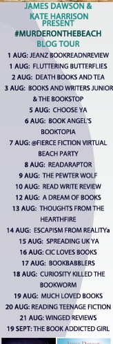 Top 5 goodbyes – books (and films?) – #MurderOnTheBeach blog tour from Kate Harrison and James Dawson