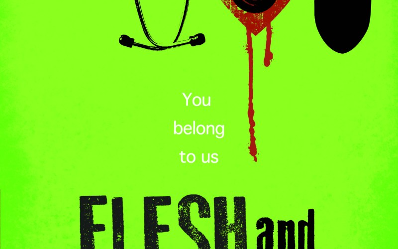 Flesh and Blood blog tour: Scenes from the life of a horror fan