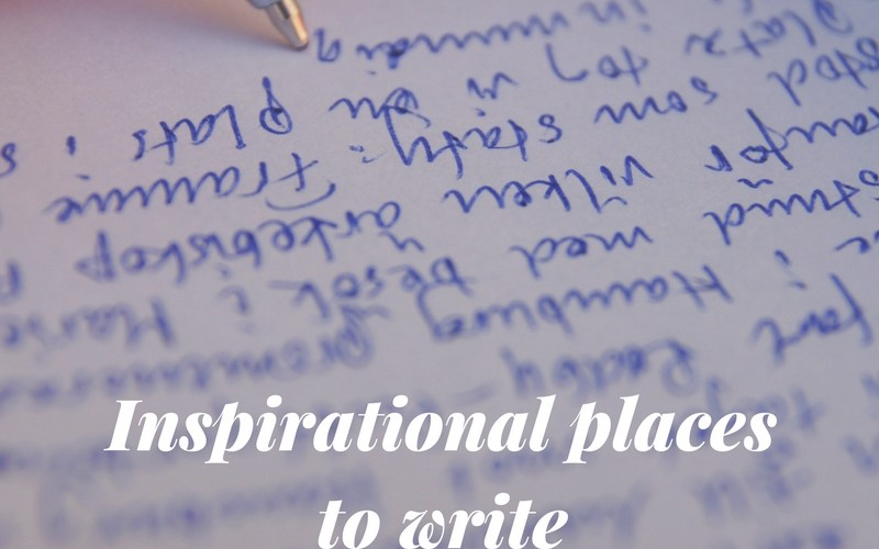 Inspirational places to write… that aren't coffee shops