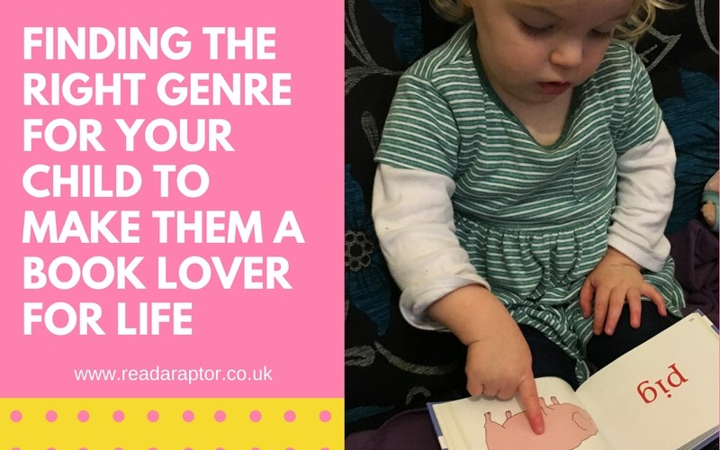 Finding the right genre for your child to make them a book lover for life