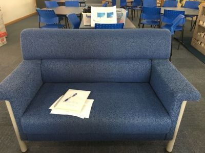First Days of School in a New-To-You Library
