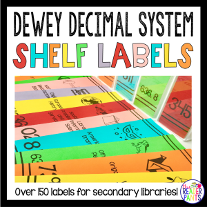 Dewey Decimal Shelf Labels How To Print And Make Mrs