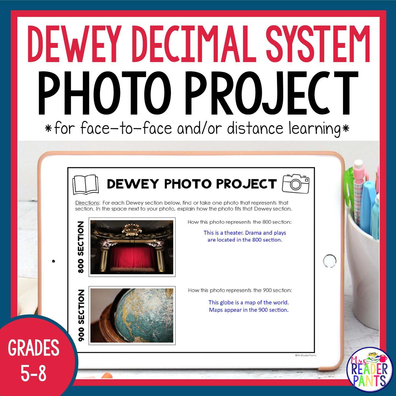 Dewey Decimal System Photo Activities