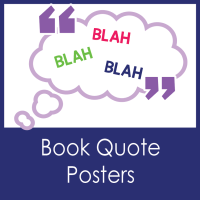 Book Quote Posters--Decor