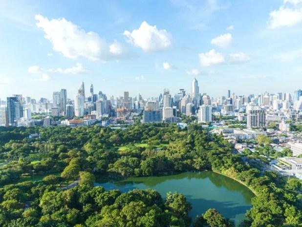 Bangrak district of Bangkok, Thailand