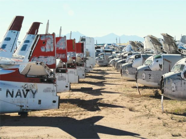 Airplanes at Davis-Monthan Air Force Base