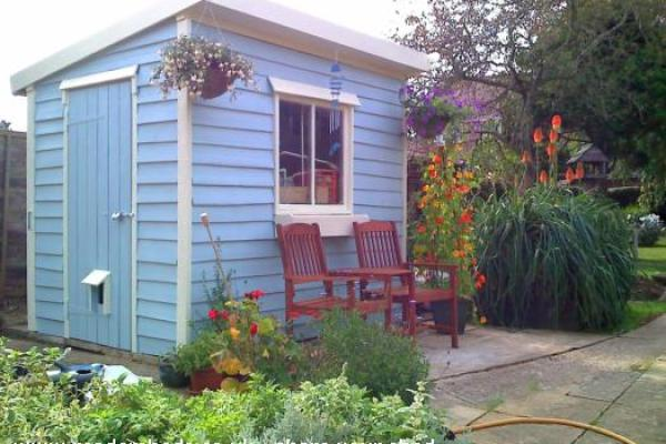 'Shedonism' - My other shed's a Porch! - John and Carole