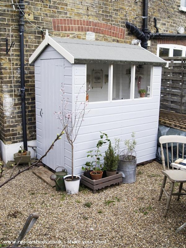 my sewing shed - Artemis Russell