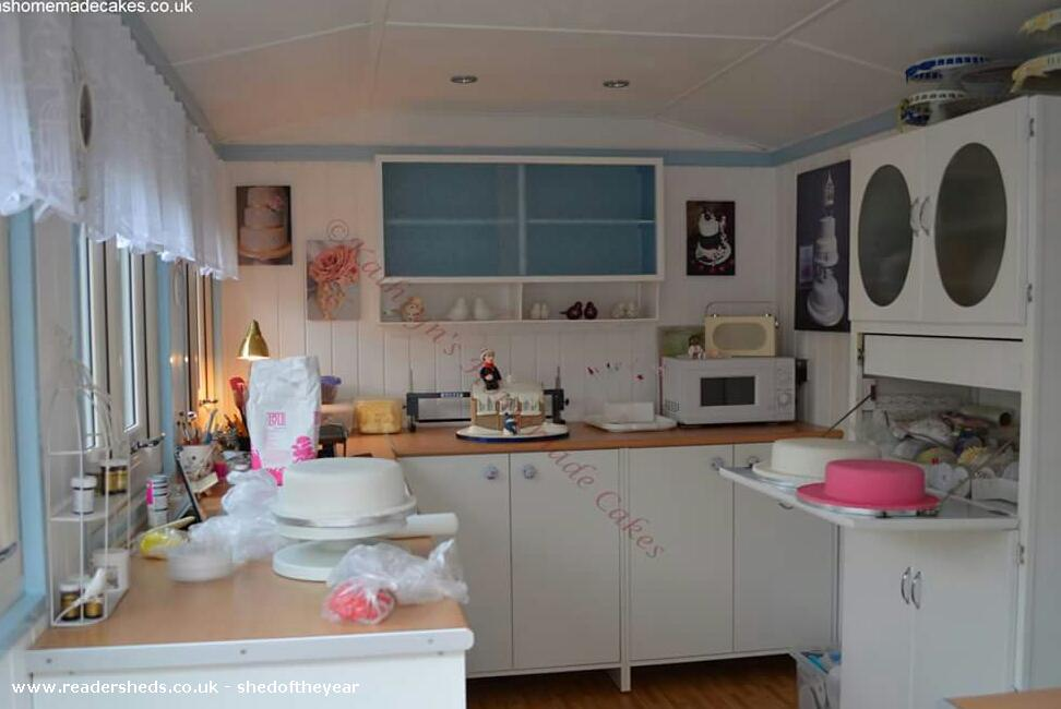 The Cake Studio WorkshopStudio From Garden Owned By